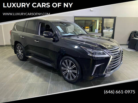 2019 Lexus LX 570 for sale at LUXURY CARS OF NY in Queens NY