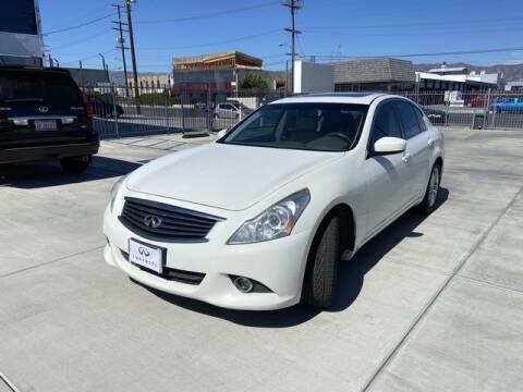 2012 Infiniti G37 Sedan for sale at Hunter's Auto Inc in North Hollywood CA