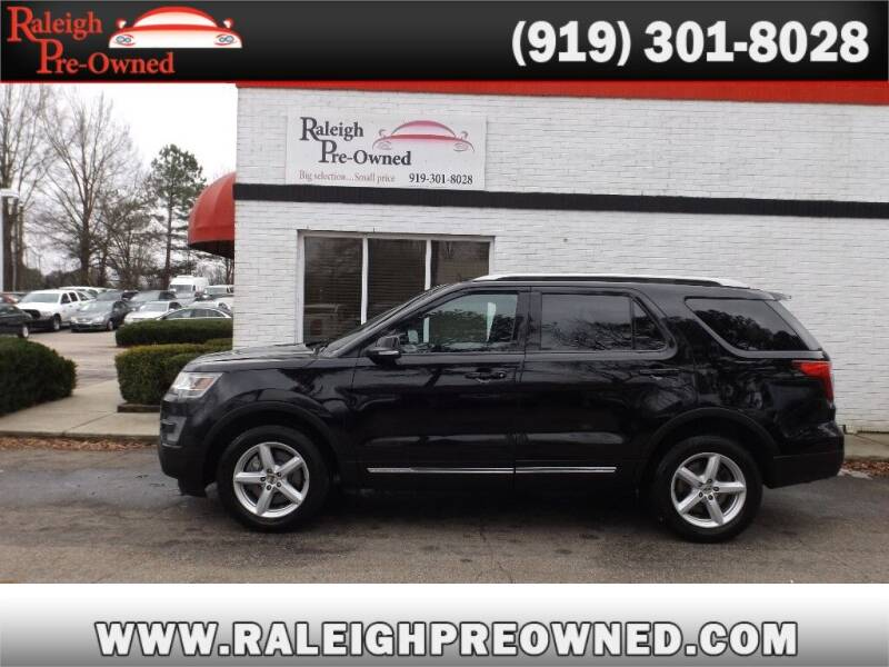 2017 Ford Explorer for sale at Raleigh Pre-Owned in Raleigh NC