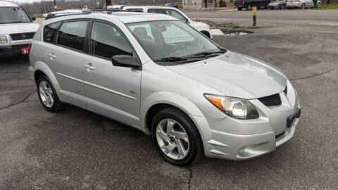2003 Pontiac Vibe for sale at Kidron Kars INC in Orrville OH