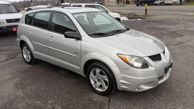 2003 Pontiac Vibe for sale at Kidron Kars INC in Orrville OH