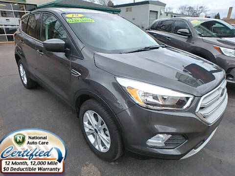 2019 Ford Escape for sale at Jon's Auto in Marquette MI