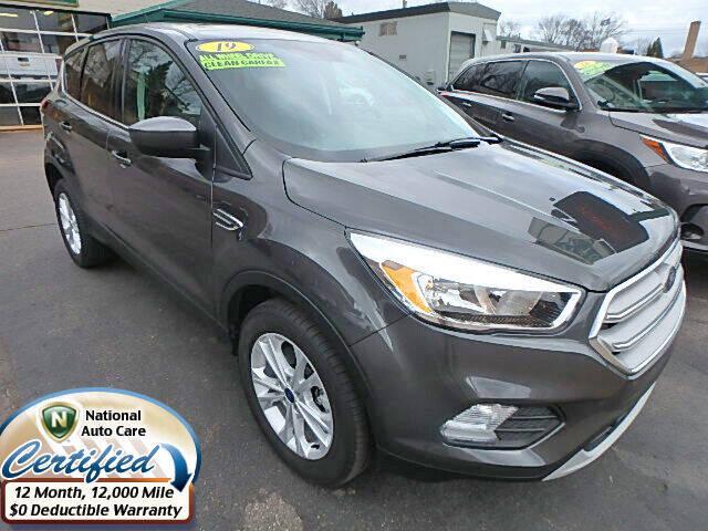 2019 Ford Escape for sale at Jon's Auto in Marquette MI