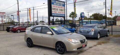 2008 Hyundai Elantra for sale at S.A. BROADWAY MOTORS INC in San Antonio TX