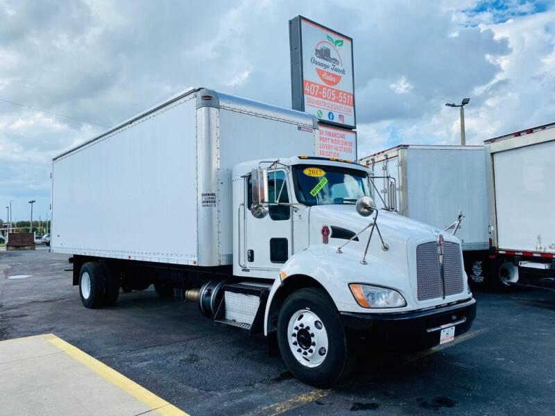 2012 Kenworth T270 for sale at Orange Truck Sales in Orlando FL