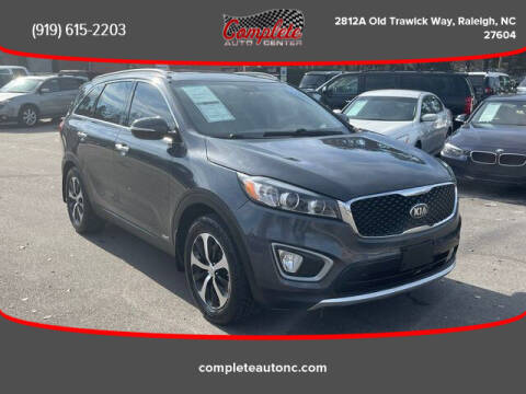 2016 Kia Sorento for sale at Complete Auto Center , Inc in Raleigh NC