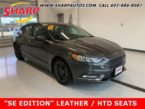 2018 Ford Fusion for sale at Sharp Automotive in Watertown SD