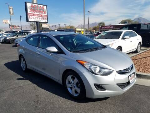 2013 Hyundai Elantra for sale at ATLAS MOTORS INC in Salt Lake City UT