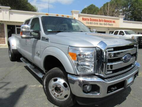 2013 Ford F-350 Super Duty for sale at North Georgia Auto Brokers in Snellville GA
