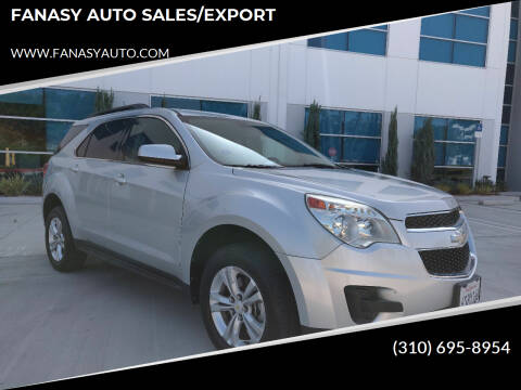2011 Chevrolet Equinox for sale at FANASY AUTO SALES/EXPORT in Yorba Linda CA