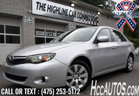 2011 Subaru Impreza for sale at The Highline Car Connection in Waterbury CT