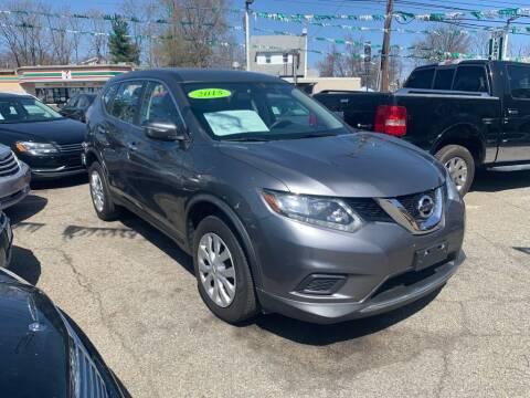 2015 Nissan Rogue for sale at Park Avenue Auto Lot Inc in Linden NJ