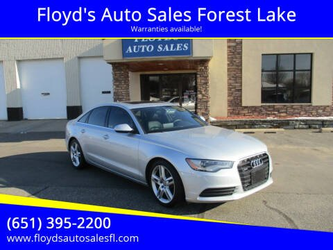 2015 Audi A6 for sale at Floyd's Auto Sales Forest Lake in Forest Lake MN