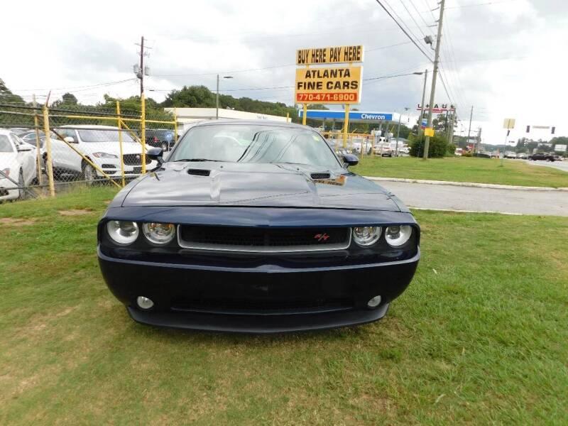 2013 Dodge Challenger for sale at Atlanta Fine Cars in Jonesboro GA