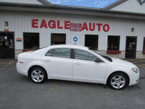 2012 Chevrolet Malibu for sale at Eagle Auto Center in Seneca Falls NY