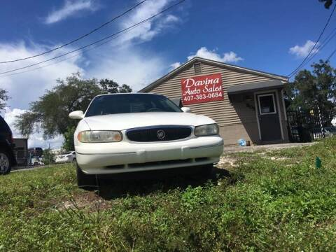2003 Buick Century for sale at DAVINA AUTO SALES in Casselberry FL
