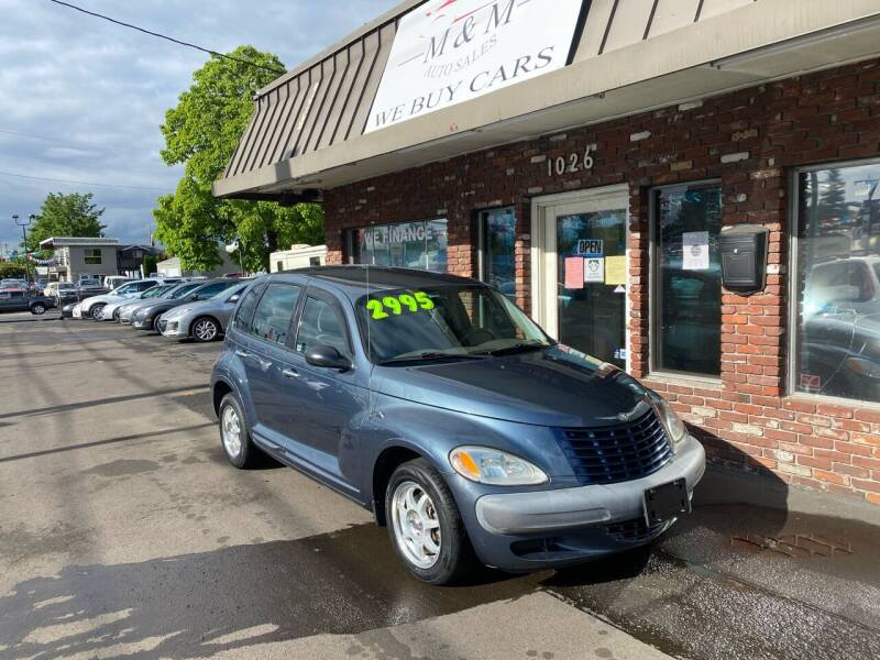 2003 Chrysler PT Cruiser for sale at M&M Auto Sales in Portland OR