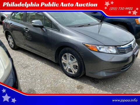2012 Honda Civic for sale at Philadelphia Public Auto Auction in Philadelphia PA