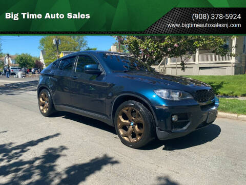 2013 BMW X6 for sale at Big Time Auto Sales in Vauxhall NJ