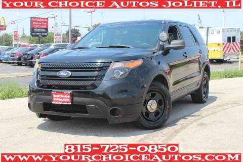 2013 Ford Explorer for sale at Your Choice Autos - Joliet in Joliet IL