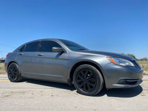 2012 Chrysler 200 for sale at ILUVCHEAPCARS.COM in Tulsa OK
