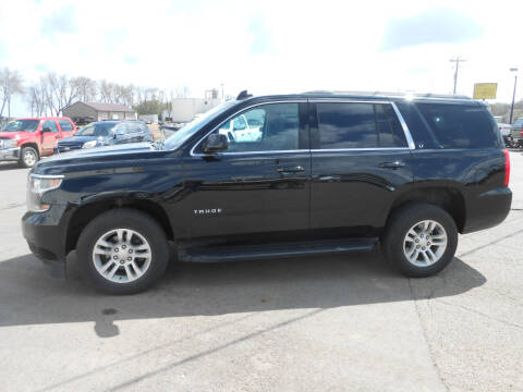 2019 Chevrolet Tahoe for sale at Salmon Automotive Inc. in Tracy MN