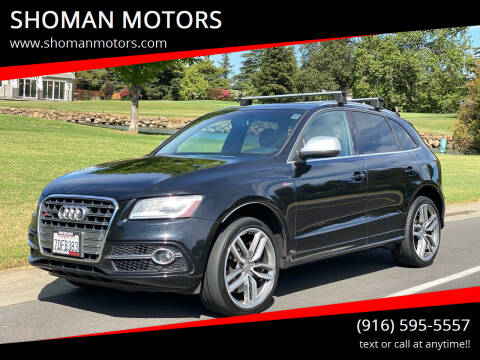 2014 Audi SQ5 for sale at SHOMAN MOTORS in Davis CA