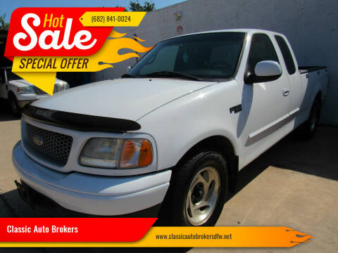 2000 Ford F-150 for sale at Classic Auto Brokers in Haltom City TX