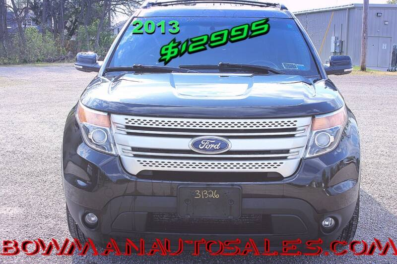 2013 Ford Explorer for sale at Bowman Auto Sales in Hebron OH