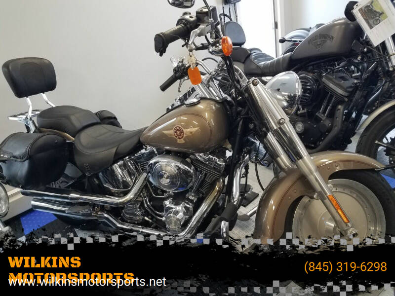 2005 Harley-Davidson Fat Boy for sale at WILKINS MOTORSPORTS in Brewster NY