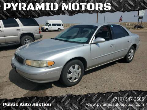 2003 Buick Century for sale at PYRAMID MOTORS - Pueblo Lot in Pueblo CO