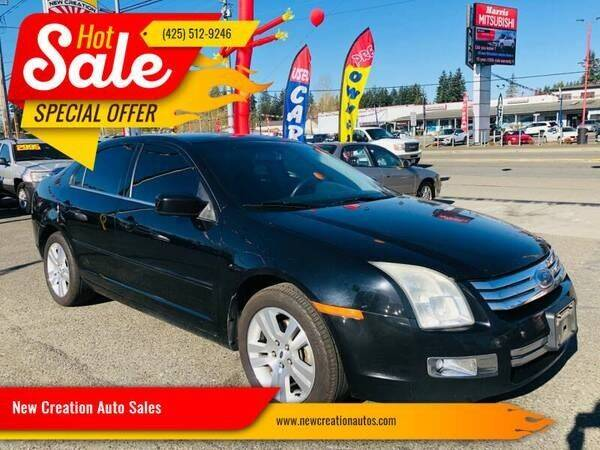 2006 Ford Fusion for sale at New Creation Auto Sales in Everett WA