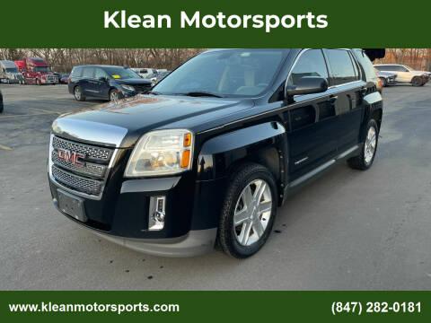 2011 GMC Terrain for sale at Klean Motorsports in Skokie IL