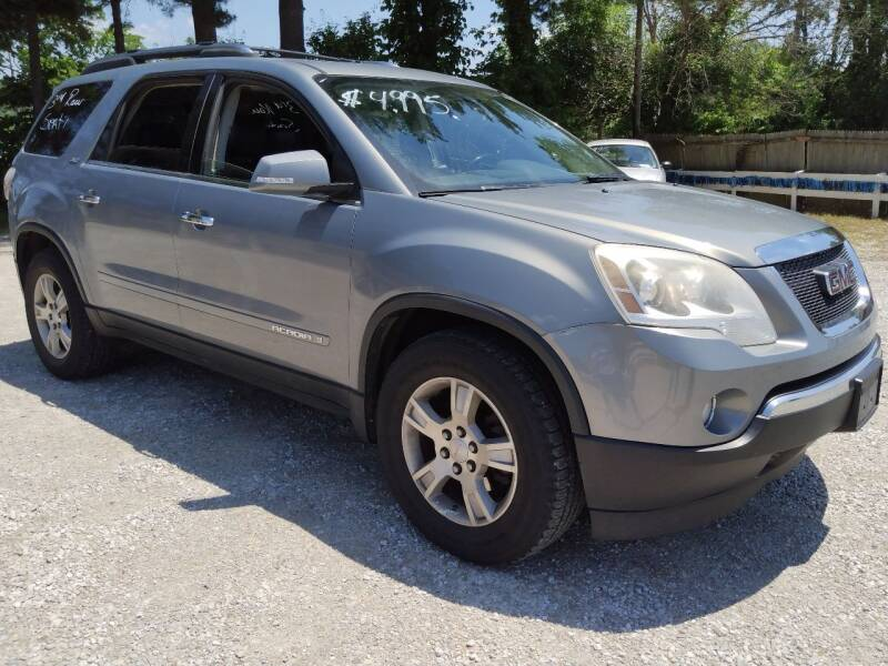 2008 GMC Acadia for sale at Easy Does It Auto Sales in Newark OH