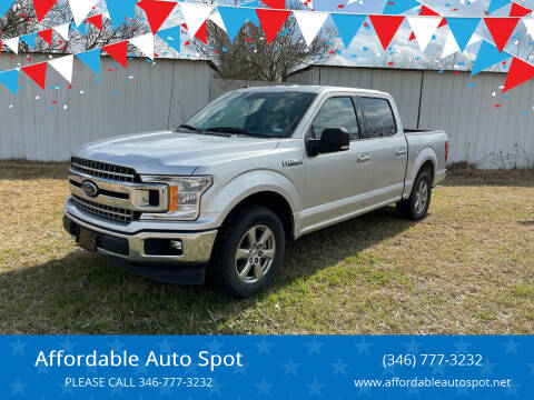 2018 Ford F-150 for sale at Affordable Auto Spot in Houston TX