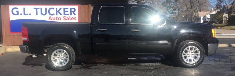 2012 GMC Sierra 1500 for sale at G L TUCKER AUTO SALES in Joplin MO