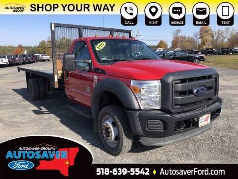2012 Ford F-550 Super Duty for sale at Autosaver Ford in Comstock NY