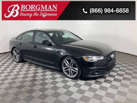 2016 Audi S6 for sale at BORGMAN OF HOLLAND LLC in Holland MI
