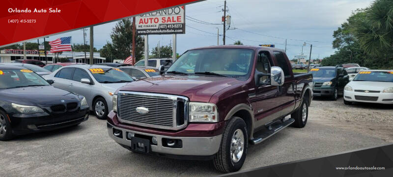 2006 Ford F-250 Super Duty for sale at Orlando Auto Sale in Orlando FL