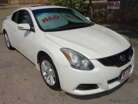 2012 Nissan Altima for sale at R & D Motors in Austin TX