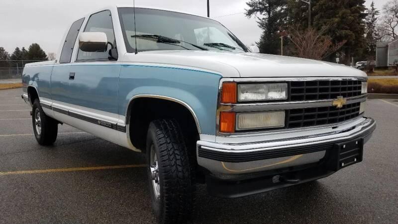 1991 Chevrolet C/K 2500 Series for sale at J.K. Thomas Motor Cars in Spokane Valley WA