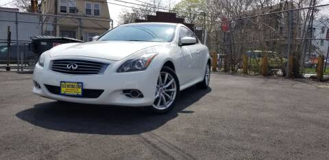 2014 Infiniti Q60 Coupe for sale at Elis Motors in Irvington NJ