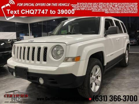 2015 Jeep Patriot for sale at CERTIFIED HEADQUARTERS in St James NY