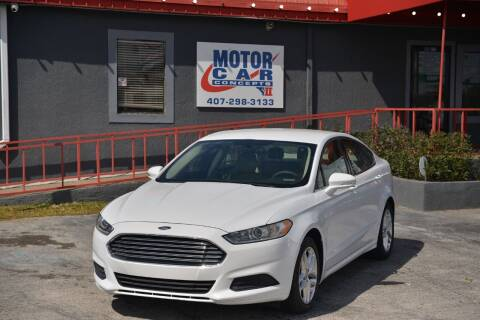 2013 Ford Fusion for sale at Motor Car Concepts II - Kirkman Location in Orlando FL