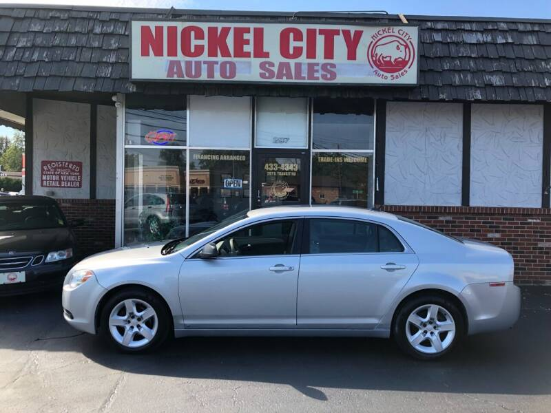 2010 Chevrolet Malibu for sale at NICKEL CITY AUTO SALES in Lockport NY