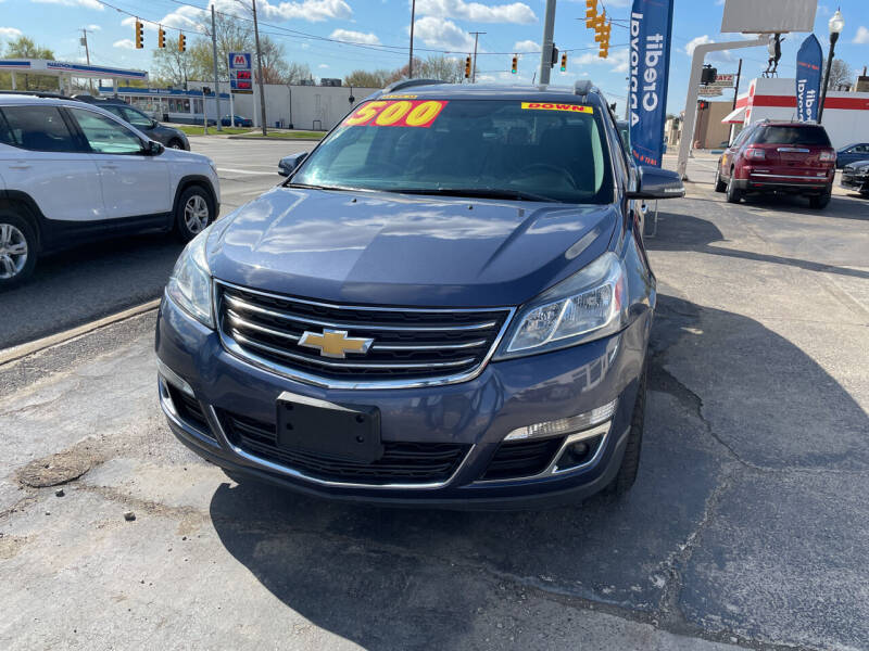 2014 Chevrolet Traverse for sale at National Auto Sales Inc. - Hazel Park Lot in Hazel Park MI