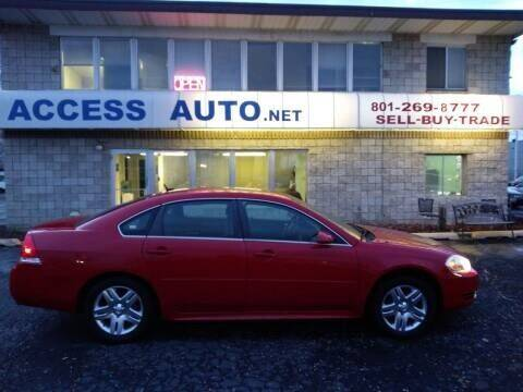2013 Chevrolet Impala for sale at Access Auto in Salt Lake City UT