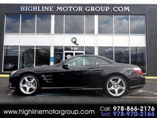 2015 Mercedes-Benz SL-Class for sale at Highline Group Motorsports in Lowell MA