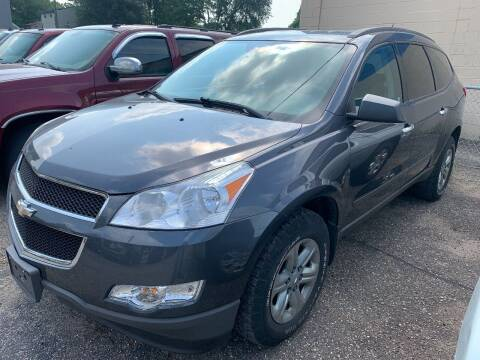 2012 Chevrolet Traverse for sale at BEAR CREEK AUTO SALES in Rochester MN