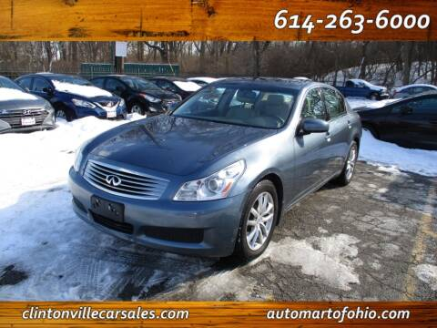 2008 Infiniti G35 for sale at Clintonville Car Sales - AutoMart of Ohio in Columbus OH